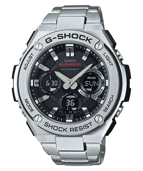 国内正規品 CASIO G-SHOCK カシオ Gショック G-STEEL Gスチール メンズ腕時計 GST-W110D-1AJF