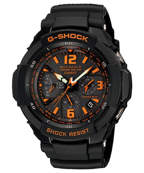 国内正規品 CASIO G-SHOCK カシオ Gショック スカイコックピット メンズ腕時計 GW-3000B-1AJF