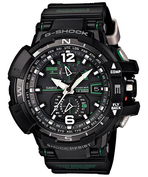 国内正規品 CASIO G-SHOCK カシオ Gショック SKY COCKPIT スカイコックピット メンズ腕時計 GW-A1100-1A3JF