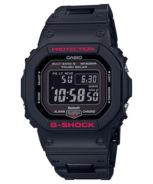 国内正規品 CASIO G-SHOCK カシオ Gショック Bluetooth 標準電波 アプリ対応 メンズ腕時計 GW-B5600HR-1JF