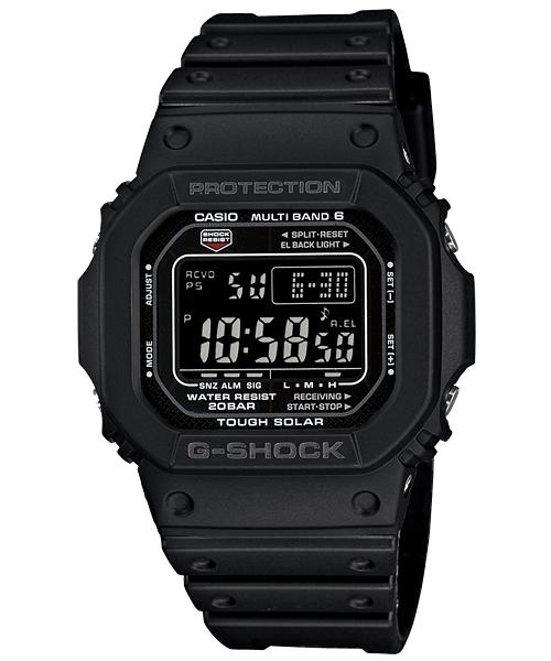 国内正規品 CASIO G-SHOCK カシオ Gショック ブラックフェイス メンズ腕時計 GW-M5610-1BJF