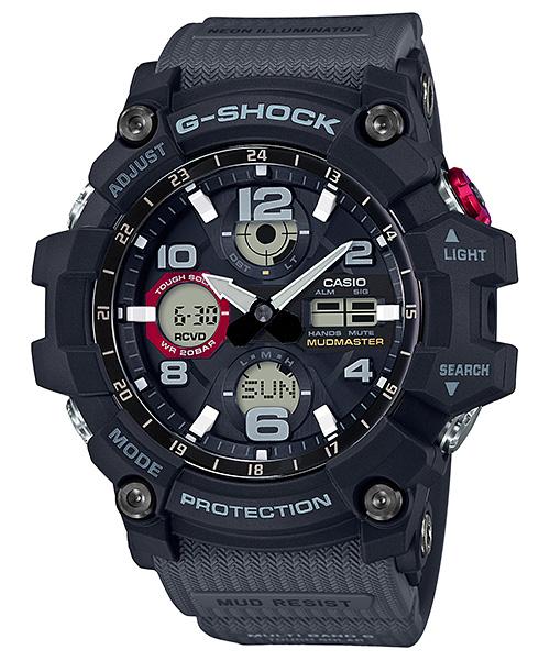 国内正規品 CASIO G-SHOCK カシオ Gショック MUDMASTER 電波ソーラー メンズ腕時計 GWG-100-1A8JF