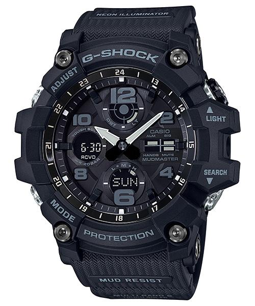 国内正規品 CASIO G-SHOCK カシオ Gショック MUDMASTER 電波ソーラー メンズ腕時計 GWG-100-1AJF