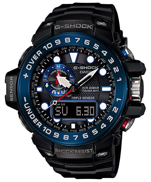 国内正規品 CASIO G-SHOCK カシオ Gショック ガルフマスター メンズ腕時計 GWN-1000B-1BJF