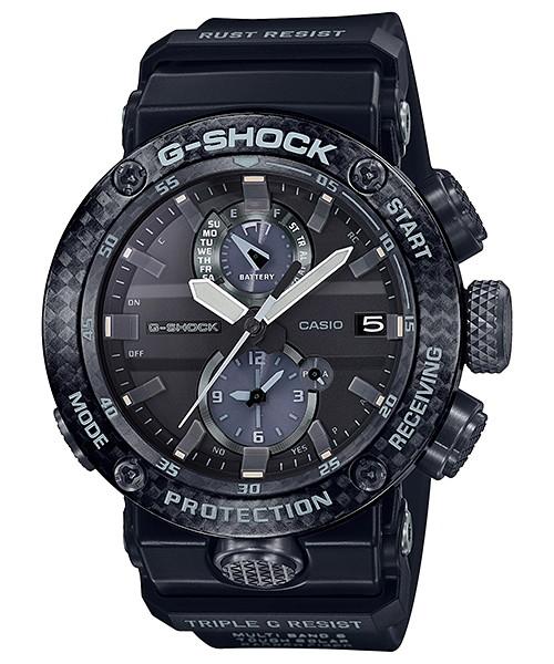 国内正規品 CASIO G-SHOCK カシオ Gショック ソーラー電波時計 グラビティマスター アプリ対応 メンズ腕時計 GWR-B1000-1AJF