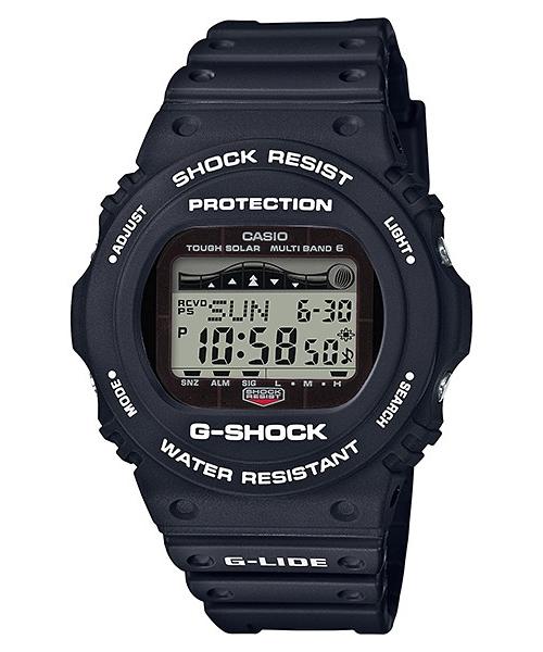 国内正規品 CASIO G-SHOCK カシオ Gショック G-LIDE タイドグラフ ムーンデータ メンズ腕時計 GWX-5700CS-1JF