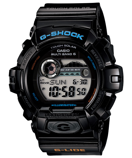 【最大10,000円引き♪お盆限定クーポン配布中】国内正規品 CASIO G-SHOCK カシオ Gショック G-LIDE Gライド メンズ腕時計 GWX-8900-1JF