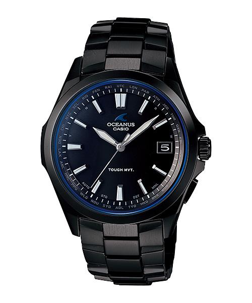 国内正規品 CASIO OCEANUS カシオ オシアナス 電波ソーラー メンズ腕時計 OCW-S100B-1AJF