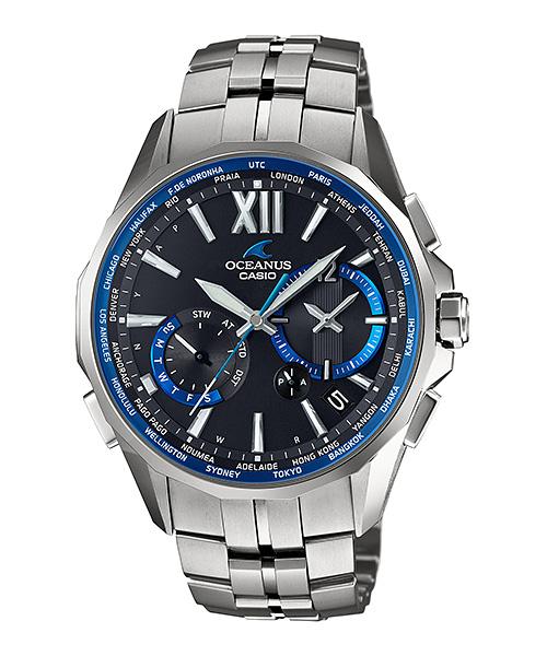 国内正規品 CASIO OCEANUS カシオ オシアナス マンタ メンズ腕時計 OCW-S3400-1AJF