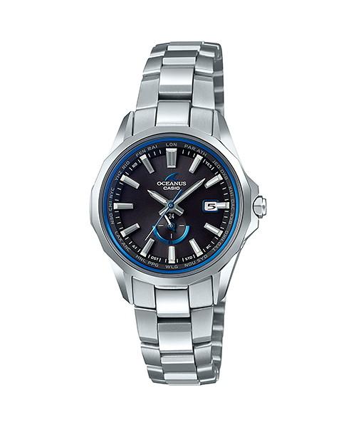国内正規品 CASIO OCEANUS カシオ オシアナス マンタ ペアモデル レディース腕時計 OCW-S350-1AJF