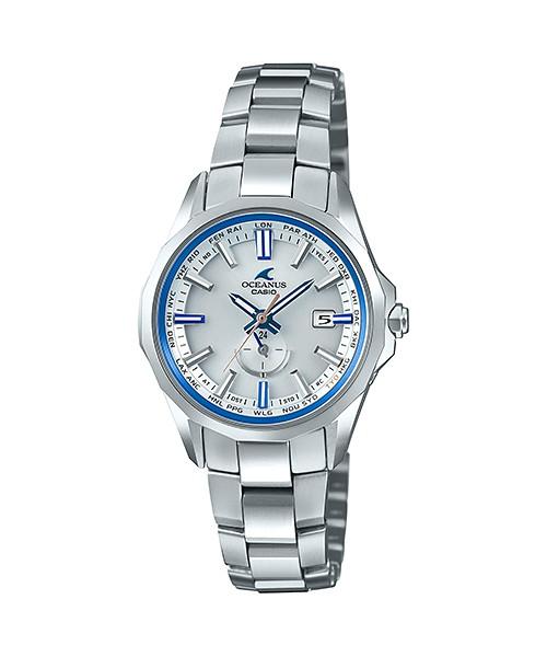 国内正規品 CASIO OCEANUS カシオ オシアナス マンタ ペアモデル レディース腕時計 OCW-S350F-7AJF