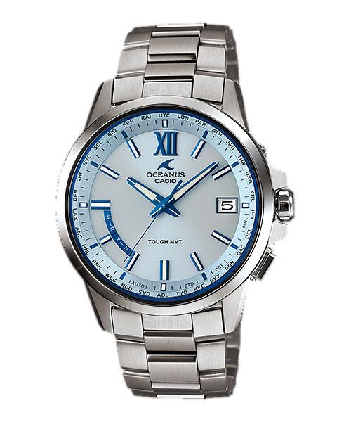 【最大10,000円引き♪お盆限定クーポン配布中】国内正規品 CASIO OCEANUS カシオ オシアナス クラシックライン メンズ腕時計 OCW-T150-2AJF