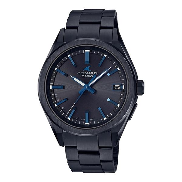 国内正規品 CASIO OCEANUS カシオ オシアナス メタルバンド モバイルリンク機能 タフソーラー 電波時計 メンズ腕時計 OCW-T200SB-1AJF