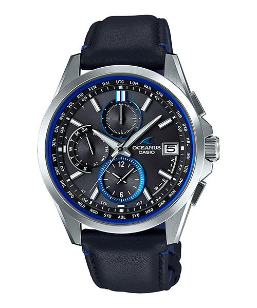国内正規品 CASIO OCEANUS カシオ オシアナス クラシックライン 電波ソーラー メンズ腕時計 OCW-T2600L-1AJF