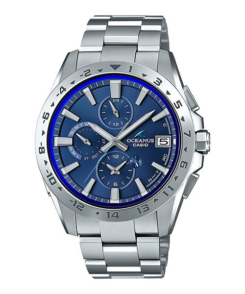 国内正規品 CASIO OCEANUS カシオ オシアナス Bluetooth 標準電波 アプリ対応 メンズ腕時計 OCW-T3000-2AJF