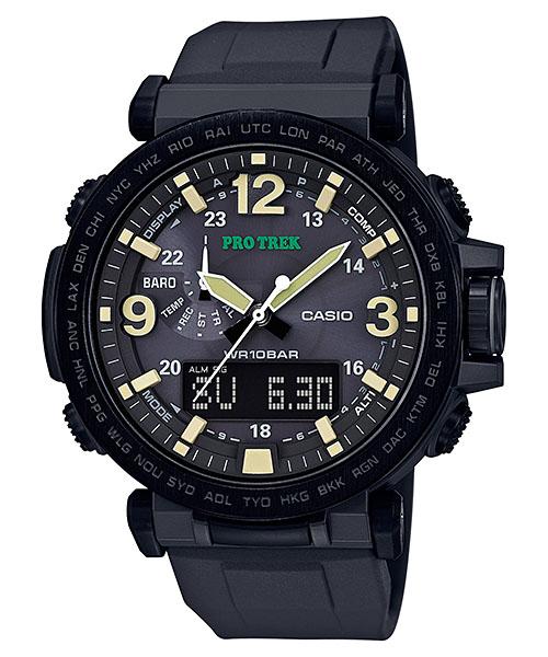 国内正規品 CASIO PRO TREK カシオ プロトレック トリプルセンサー メンズ腕時計 PRG-600Y-1JF