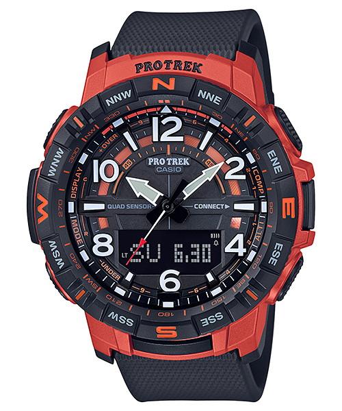 国内正規品 CASIO PRO TREK カシオ プロトレック Bluetooth スマホ対応 メンズ腕時計 PRT-B50-4JF