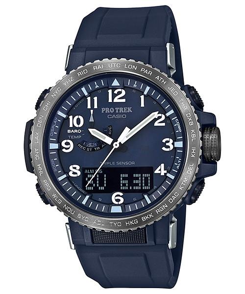 国内正規品 CASIO PRO TREK カシオ プロトレック クライマーライン ソーラー電波 付属バンド メンズ腕時計 PRW-50YFE-2AJR