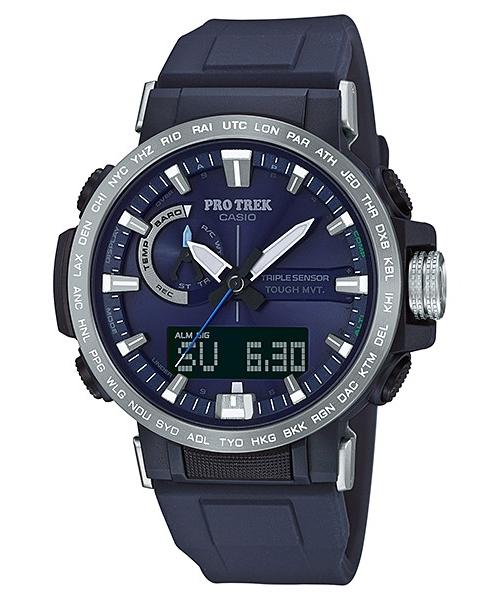 国内正規品 CASIO PRO TREK カシオ プロトレック クライマーライン トリプルセンサー メンズ腕時計 PRW-60-2AJF