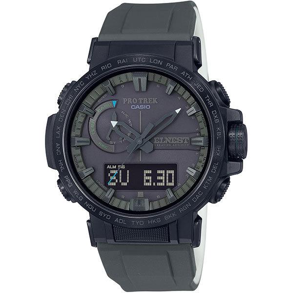国内正規品 CASIO PRO TREK カシオ プロトレック 電波ソーラー 10気圧防水 ELNEST CREATIVE ACTIVITY メンズ腕時計 PRW-60ECA-1AJR