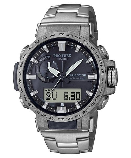 国内正規品 CASIO PRO TREK カシオ プロトレック クライマーライン トリプルセンサー メンズ腕時計 PRW-60T-7AJF
