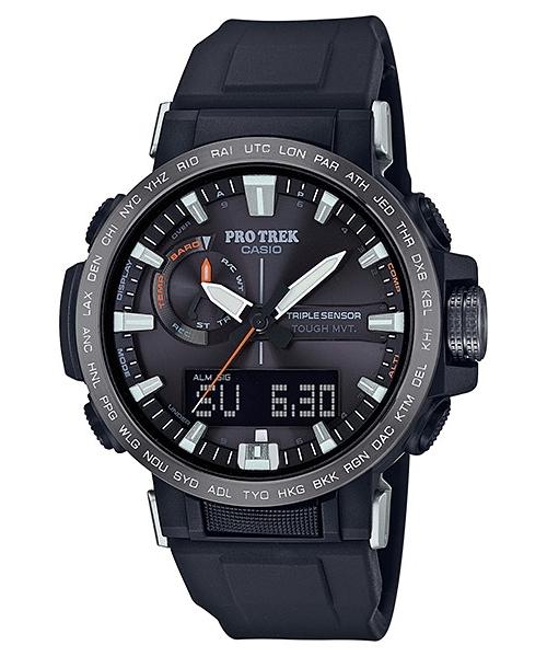 国内正規品 CASIO PRO TREK カシオ プロトレック クライマーライン トリプルセンサー メンズ腕時計 PRW-60Y-1AJF