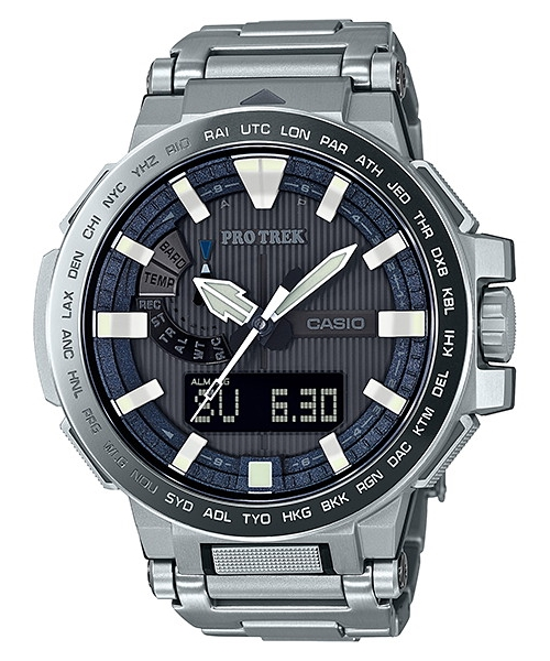 国内正規品 CASIO PRO TREK カシオ プロトレック マナスル トリプルセンサー メンズ腕時計 PRX-8000GT-7JF