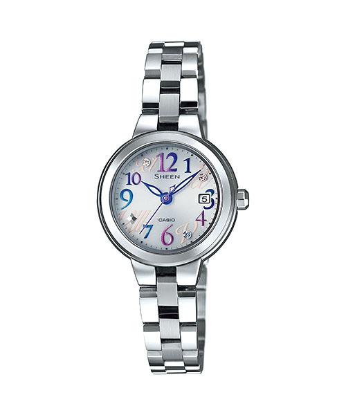 【最大10,000円引き♪お盆限定クーポン配布中】国内正規品 CASIO SHEEN カシオ シーン フレッシュカラーズ レディース腕時計 SHE-4506SBD-7A2JF