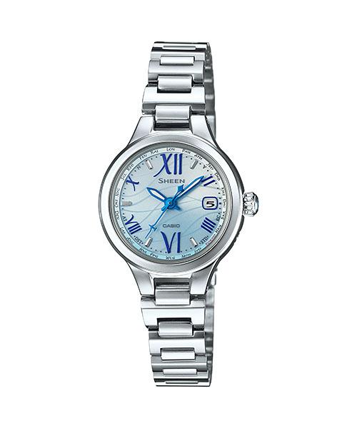 国内正規品 CASIO SHEEN カシオ シーン 電波ソーラー レディース腕時計 SHW-1700D-2AJF