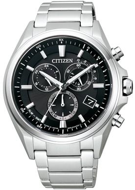 CITIZEN ATTESA シチズン アテッサ クロノグラフ メンズ腕時計 AT3050-51E