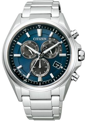 CITIZEN ATTESA シチズン アテッサ クロノグラフ メンズ腕時計 AT3050-51L