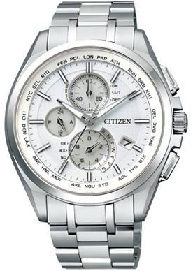 CITIZEN シチズン ATTESA アテッサ エコドライブ電波時計 ダイレクトフライト メンズ腕時計 AT8040-57A