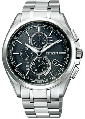 CITIZEN ATTESA シチズン アテッサ エコドライブ 電波時計 ダイレクトフライト メンズ腕時計 AT8040-57E