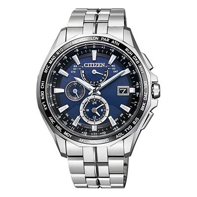 CITIZEN ATTESA シチズン アテッサ ワールドタイム電波時計 ダブルダイレクトフライト メンズ腕時計 AT9090-53L