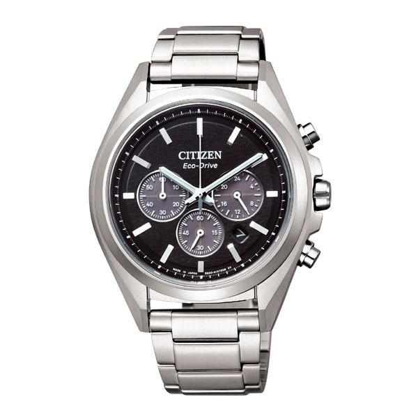 CITIZEN ATTESA シチズン アテッサ エコドライブ クロノグラフ メンズ腕時計 CA4390-55E
