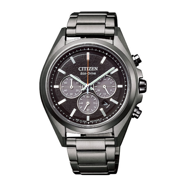 CITIZEN ATTESA シチズン アテッサ エコ・ドライブ電波時計 メンズ腕時計 CA4394-54E