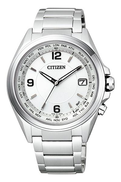 CITIZEN ATTESA シチズン アテッサ ダイレクトフライト ワールドタイム電波時計 メンズ腕時計 CB1070-56B