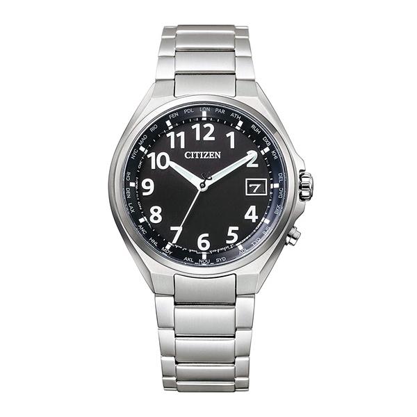 CITIZEN ATTESA シチズン アテッサ ワールドタイム電波時計 ダイレクトフライト スーパーチタニウム メンズ腕時計 CB1120-50F