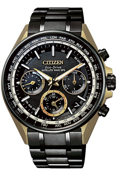 CITIZEN ATTESA シチズン アテッサ 限定モデル GPS衛星電波時計 エコ・ドライブ メンズ腕時計 CC4004-66E