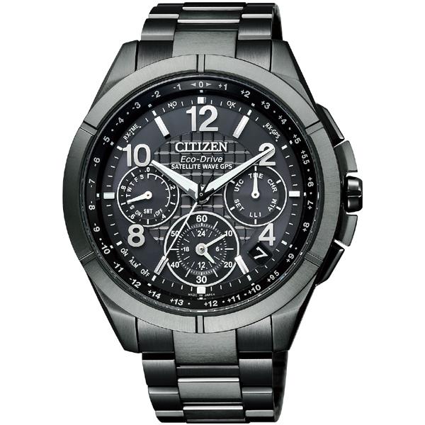 CITIZEN ATTESA シチズン アテッサ GPS衛星電波時計 メンズ腕時計 CC9075-52F