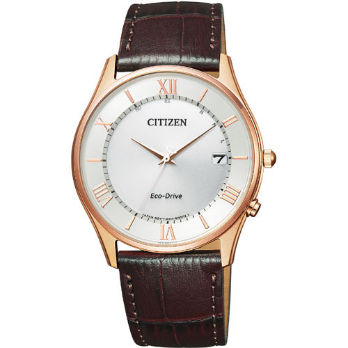 CITIZEN COLLECTION シチズンコレクション 電波時計 メンズ腕時計 AS1062-08A