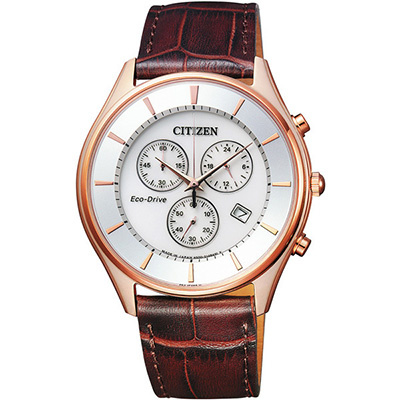 CITIZEN COLLECTION シチズン コレクション エコドライブ クロノグラフ メンズ腕時計 AT2362-02A