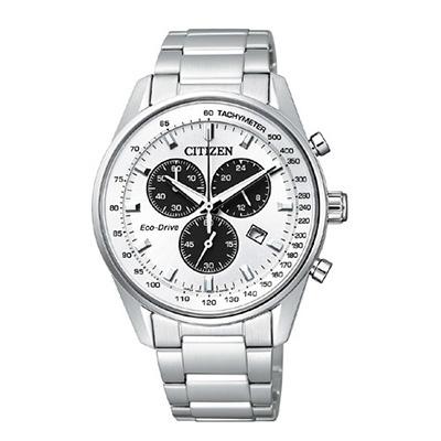 CITIZEN COLLECTION シチズンコレクション エコ・ドライブ クロノグラフ メンズ腕時計 AT2390-58A
