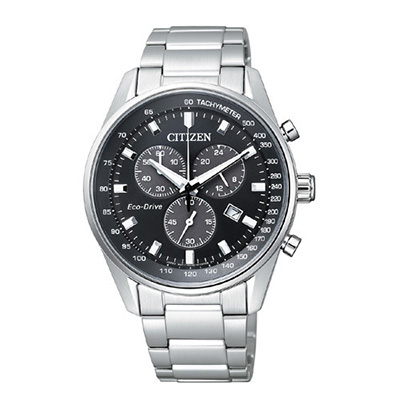 CITIZEN COLLECTION シチズンコレクション エコ・ドライブ クロノグラフ メンズ腕時計 AT2390-58E