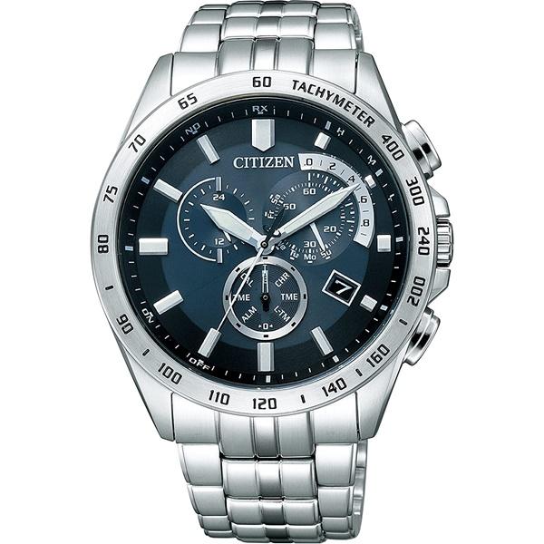 CITIZEN COLLECTION シチズン コレクション エコドライブ 電波時計 メンズ腕時計 AT3000-59L