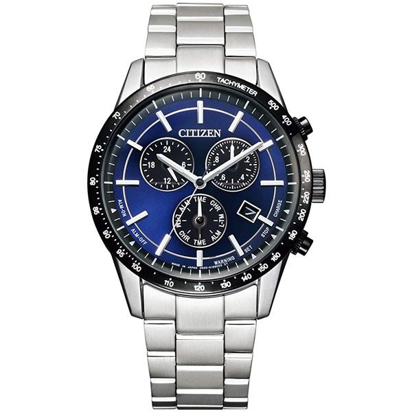 CITIZEN COLLECTION シチズンコレクション エコドライブ ステンレス クロノグラフ メンズ腕時計 BL5496-96L