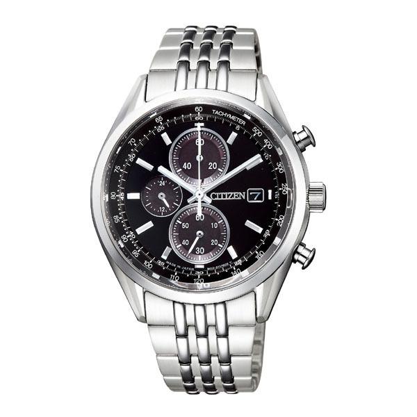CITIZEN COLLECTION シチズン コレクション エコドライブ 1/5秒 クロノグラフ メンズ腕時計 CA0450-57E