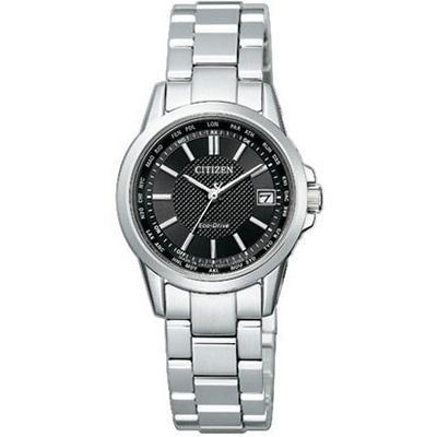 CITIZEN COLLECTION シチズンコレクション ワールドタイム電波時計 ダイレクトフライト レディース腕時計 EC1130-55E