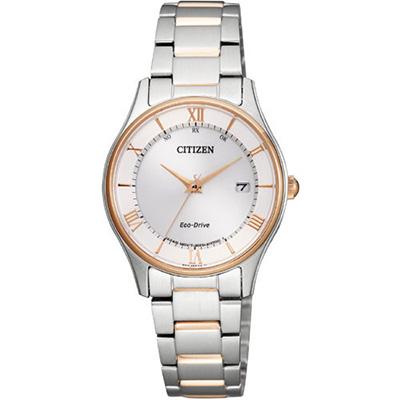 CITIZEN COLLECTION シチズン コレクション エコドライブ 電波時計 ペアモデル レディース腕時計 ES0002-57A