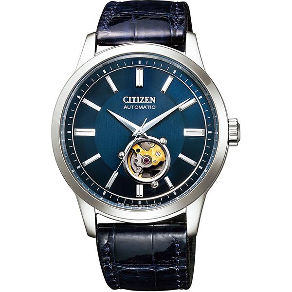 CITIZEN COLLECTION シチズンコレクション 機械式 自動巻手巻付 シースルーバック メンズ腕時計 NB4020-11L